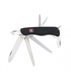 Victorinox 0.8493.3 Couteau Locksmith 11,1 cm Bi-matière Noir