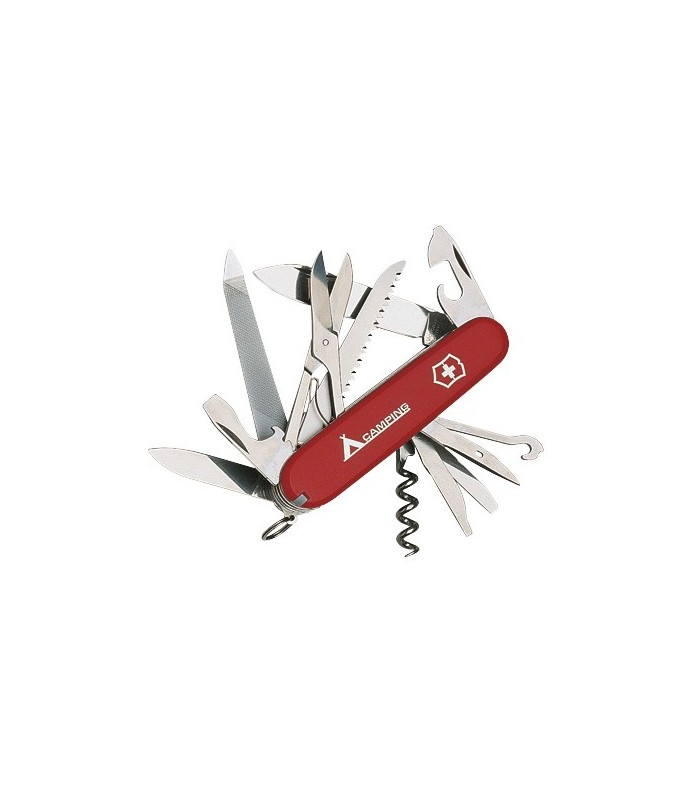 Victorinox 1.3763.71 Couteau Ranger Logo 9 cm Bakélite Rouge camping