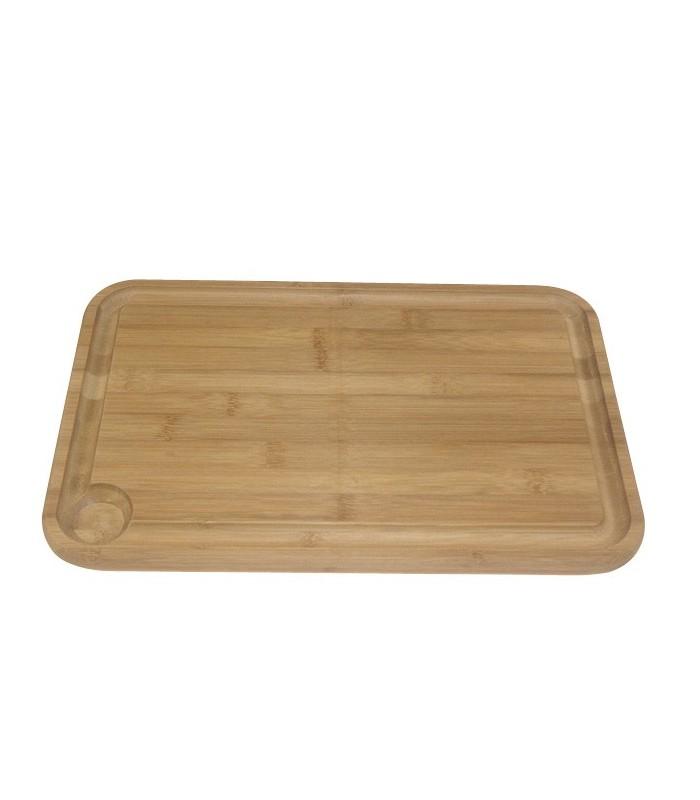 Berard 12103 Planche à découper en bois Marron clair dim : 31x23x2 cm