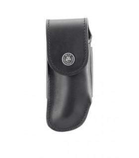 Max Capdebarthes 16312 cuir noir, port horizontal/vertical pour couteaux forts jusqu'à 12 cm de manche