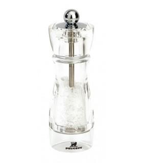 Peugeot 18238 Moulin à sel Vittel 16 cm Acrylique Incolore/sel