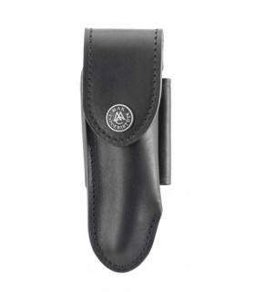 Max Capdebarthes 27312 cuir noir, port horizontal/vertical pour Laguiole tous modèles de 11/12 cm de manche.