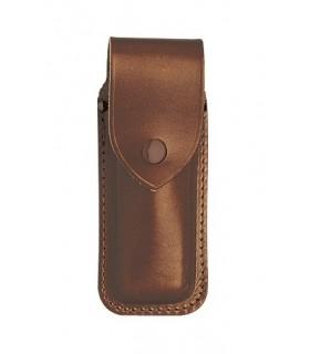 Pielcu 3699 Étui cuir marron pour couteaux de 12/13 cm de manche.