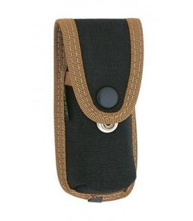 Pielcu 38028 Etui Cordura® noir, réglable (double pression), pour couteaux de 11/12 cm de manche.
