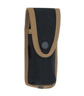 Pielcu 38029 Etui Cordura® noir, réglable (double pression), pour couteaux de 13/14 cm de manche.