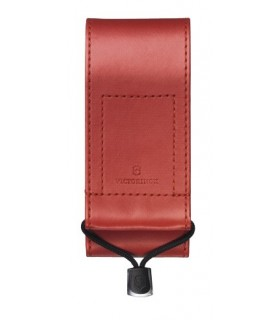 Victorinox 4.0482.1 Étui toile rouge pour couteaux à cran 111 mm jusqu'à 10 pièces.