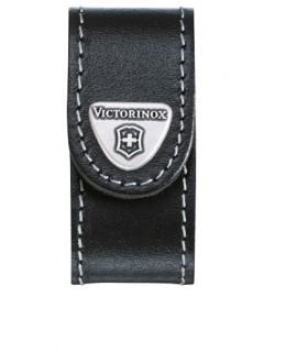 Victorinox 4.0518.xl Étui cuir noir pour Minichamp et modèles avec clé USB.