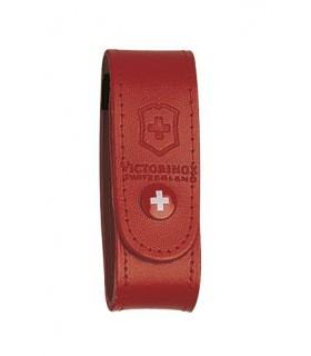 Victorinox 4.0521.1 Étui cuir rouge pour couteaux 91 mm de 15 à 23 pièces.