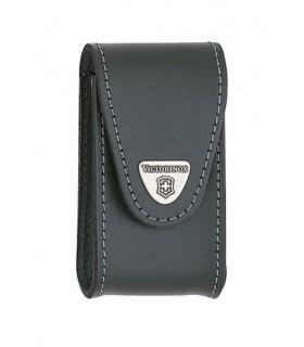 Victorinox 4.0521.3 Etui Victorinox 4.0521.1 Étui cuir noir pour couteaux 91 mm de 15 à 23 pièces.