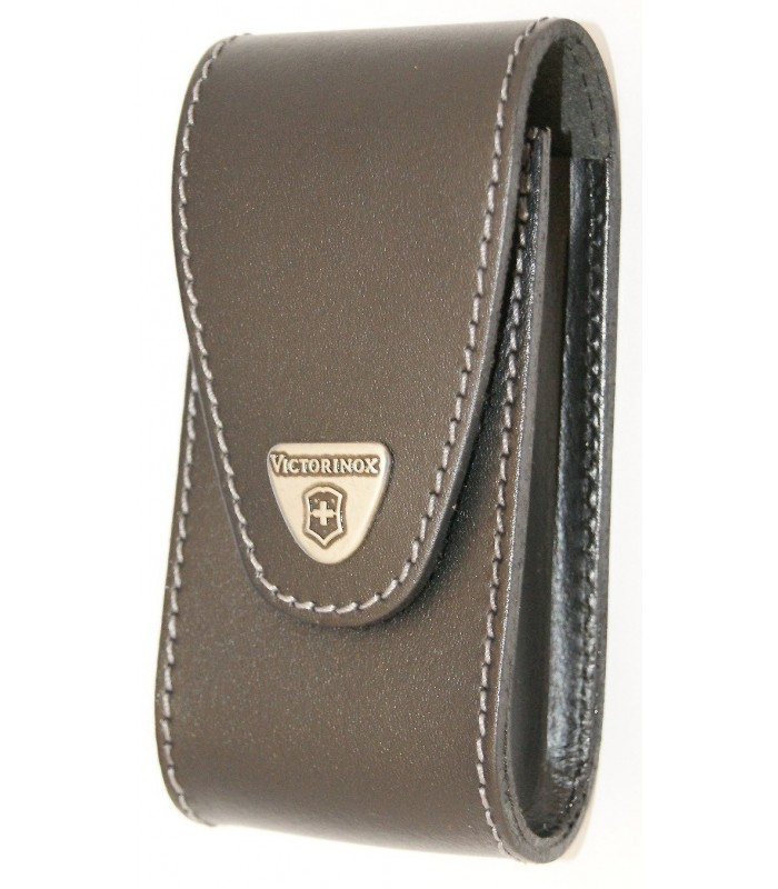 Victorinox 4.0524.xl Etui spécial pour couteau 0.8564.XL, cuir noir.