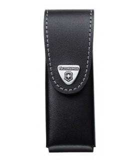 Victorinox 4.0523.3 Étui cuir noir pour SWISSTOOL ou pour couteaux à cran 111 mm jusqu'à 10 pièces.