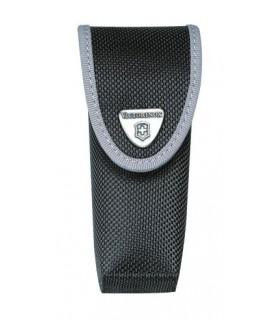 Victorinox 4.0547.3 Étui nylon noir avec compartiment pour mini-torche, pour couteaux à cran 111 mm jusqu'à 10 pièces.