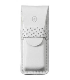 Victorinox 4.0762.7 Étui cuir blanc pour canifs 58 mm jusqu'à 5 pièces.