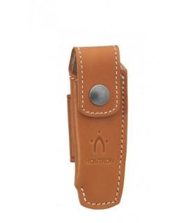 Nontron 87222 Etui cuir fauve pour NONTRON « n° 22 » de 10,5 cm de manche.