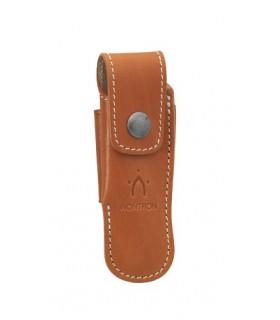 Nontron 87225 Etui cuir fauve pour NONTRON « n° 25 » de 12 cm de manche.