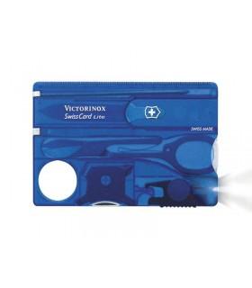 Victorinox 0.7322.t2 Swisscard 0 cm Bakélite Bleu translucide
