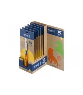 Opinel 11701 Présentoir 6 Couteaux 10 cm Bois Lion