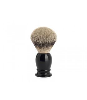 Mühle 091k256 Blaireau 0 cm pur argenté (silvertip badger monture résine noir.