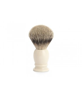 Mühle 091k257 Blaireau 0 cm pur argenté (silvertip badger monture résine ivoire