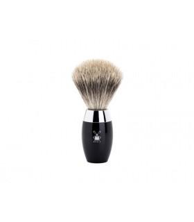 Mühle 281k876 Blaireau 0 cm pur gris (fine badger) monture résine noir.