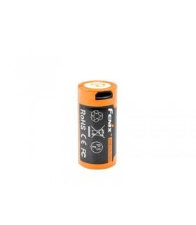 Fenix 16340.usb Accu rechargeable 3,6V, 700 mAh.