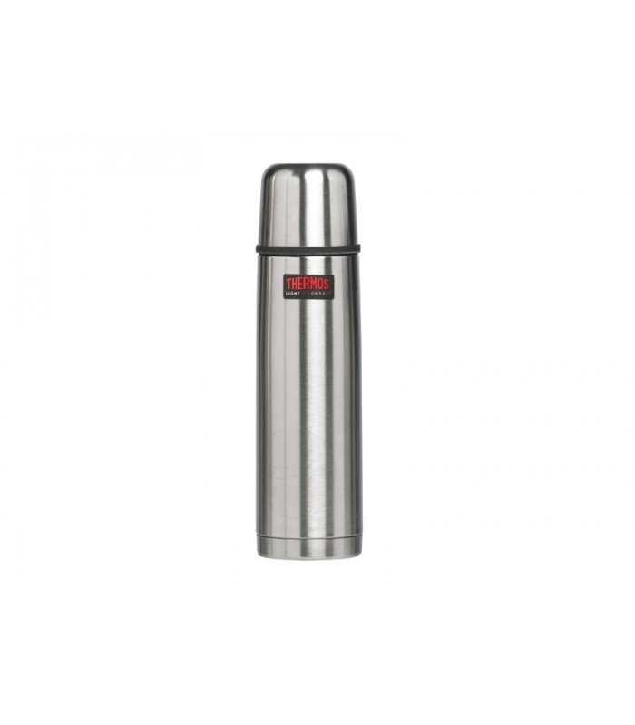 Thermos 183669 Bouteille isotherme THERMOS « LIGHT & COMPACT » 0,75 l, à double paroi (isolation Thermos® sous vide d'air)