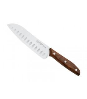 Due Cigni 2c.1005no Couteau santoku 17,5 cm bois noyer