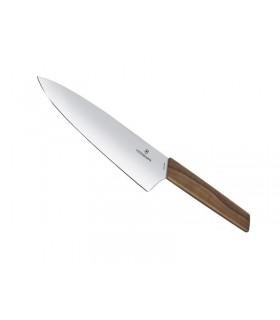 Victorinox 6.9010.20g Couteau chef 20 cm bois noyer