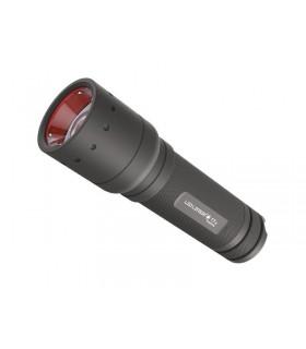 Ledlenser 9807 Torche LED, 130 mm noire, diamètre de la tête 37 mm, 320 lumens. 3 modes d'éclairage