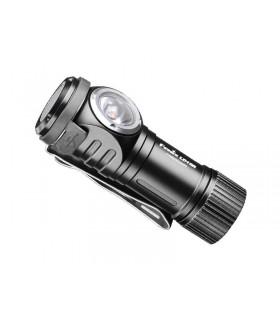 Fenix ld.15.r Torche LED porte-clés 70 mm noire, diam. 19 mm, 500 lumens. Rechargeable par USB (câble fourni)