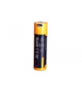 Accus rechargeable fenix 18650.usb