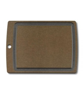 Victorinox 7.4114 Planche à découper marron/noir Allrounder L dimension : 37 x 28,5 x 0,6 cm