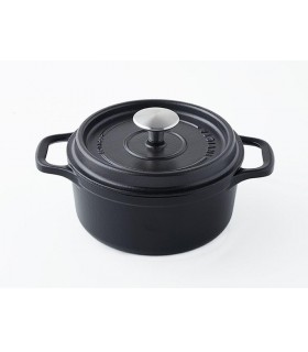 Invicta 40220.n cocotte ronde dimensions hors-tout 275 x 205 x 135 mm