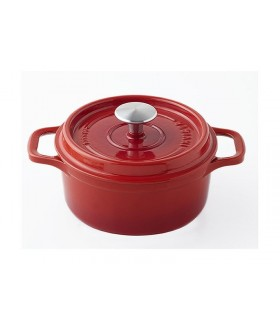 Invicta 40220.r cocotte ronde dimensions hors-tout 275 x 205 x 135 mm