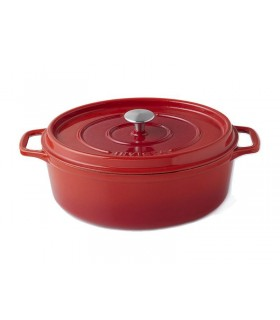 Invicta 40331.r cocotte ovale dimensions hors-tout 390x245x165 mm