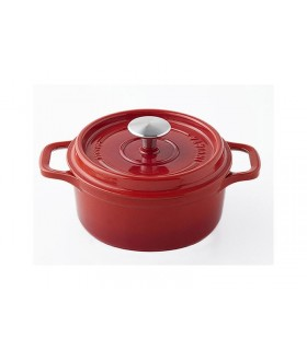 Invicta 40218.r cocotte ronde dimensions hors-tout 255 x 185 x 130 mm