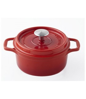 Invicta 40228.r cocotte ronde dimensions hors-tout 360 x 285 x 165 mm